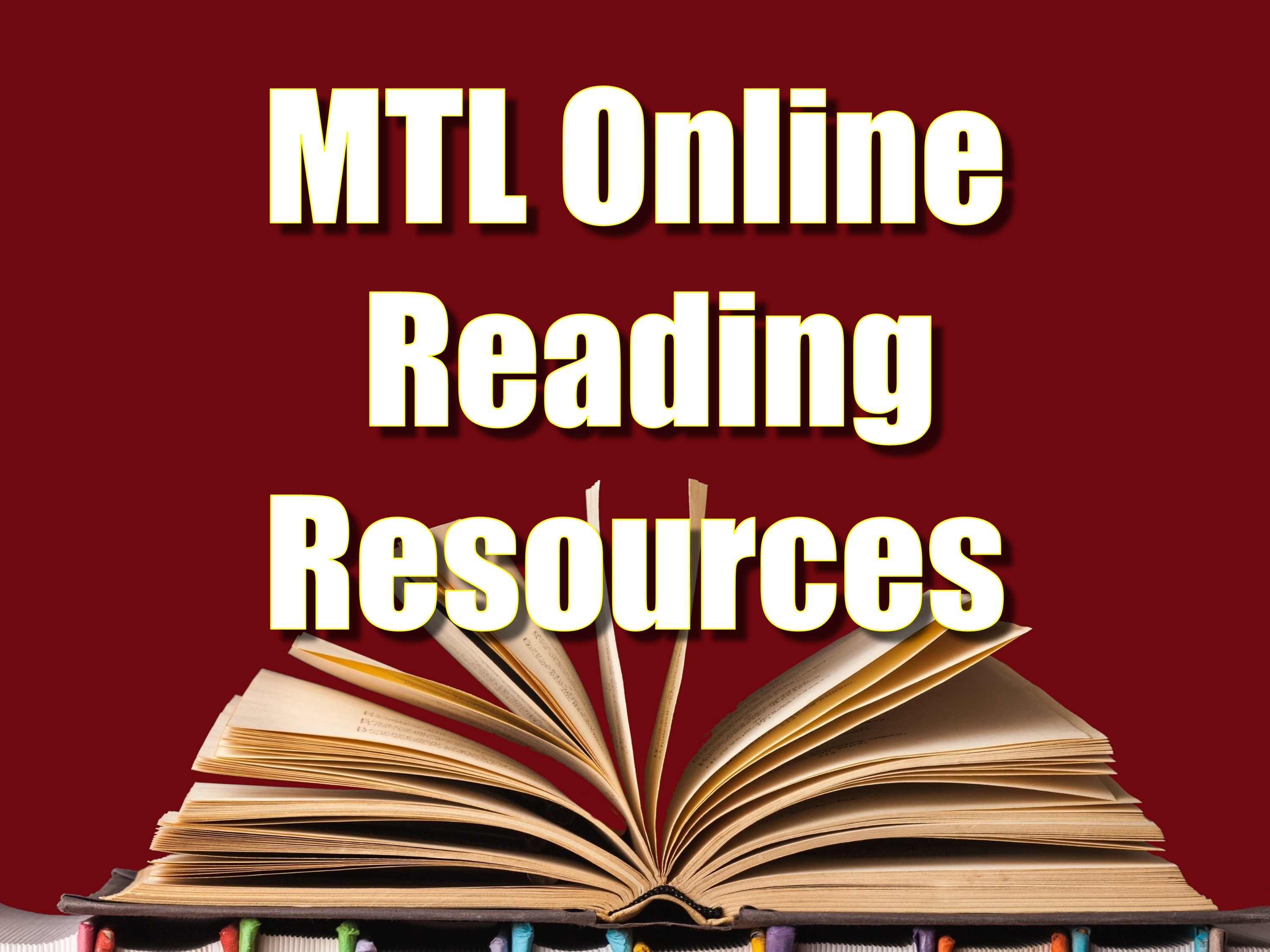 MTL Online Reading Resources