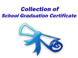 Collection of School Graduation Certificate